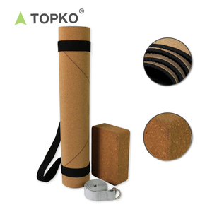 Factory Price Private Label Eco Friendly Cork / PU / Suede Natural Rubber Yoga Mat