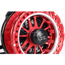 Alumimu Twin Carbon Disc Drag System Large Arbor Saltwater Waterproof Fly Fishing Reel
