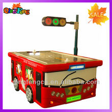 electronic spanish arcade bubble hockey game table foosball air hockey