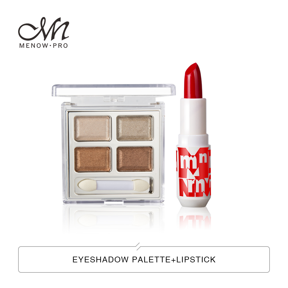 Menow Perfect Eyes Cosmetics Lip Makeup Kit