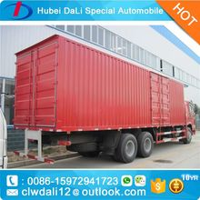 mobile food truck,Chinese SINOTRUK HOWO Box Truck 6x4 Van Cargo Truck for sale