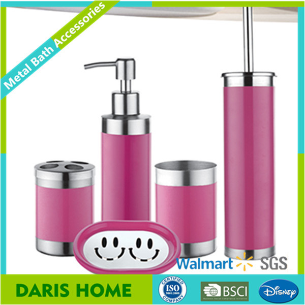 Home goods colorful metal bathroom accessories accessories for Colorful bathroom accessories