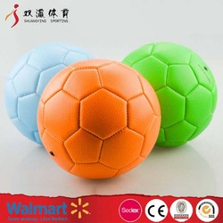 handball ball wholesale custom different size and logo design,machine stitching colorful leather hand ball