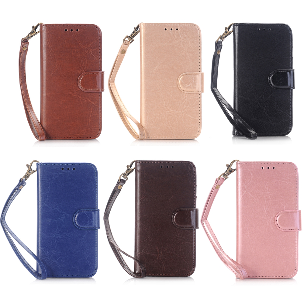 hot sale premium universal smart phone wallet style leather case for iphone 5 5S 5SE