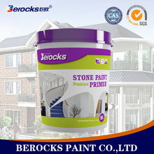 Super quality stone effect paint 18L/stone texture wall paint