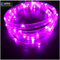 Waterproof series copper wire LED light string transparent tube battery operated