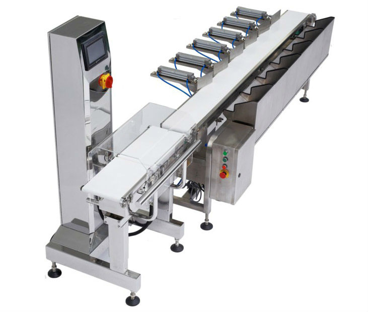 CWM-200 Seafood Conveyor Checkweigher Online Weight Sorting Machine