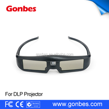 New Product Cheap DLP link 3d shutter glasses for Optoma, Acer, BenQ, NEC,Viewsonic