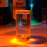 From GMTlight 60ml Transparent Flashing LED Plastic Shot Glass