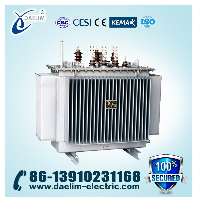 10kv 500kva 3 phase oil distribution transformer