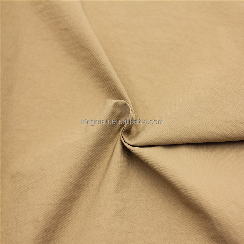 100% nylon twill single dyed crepe fabric