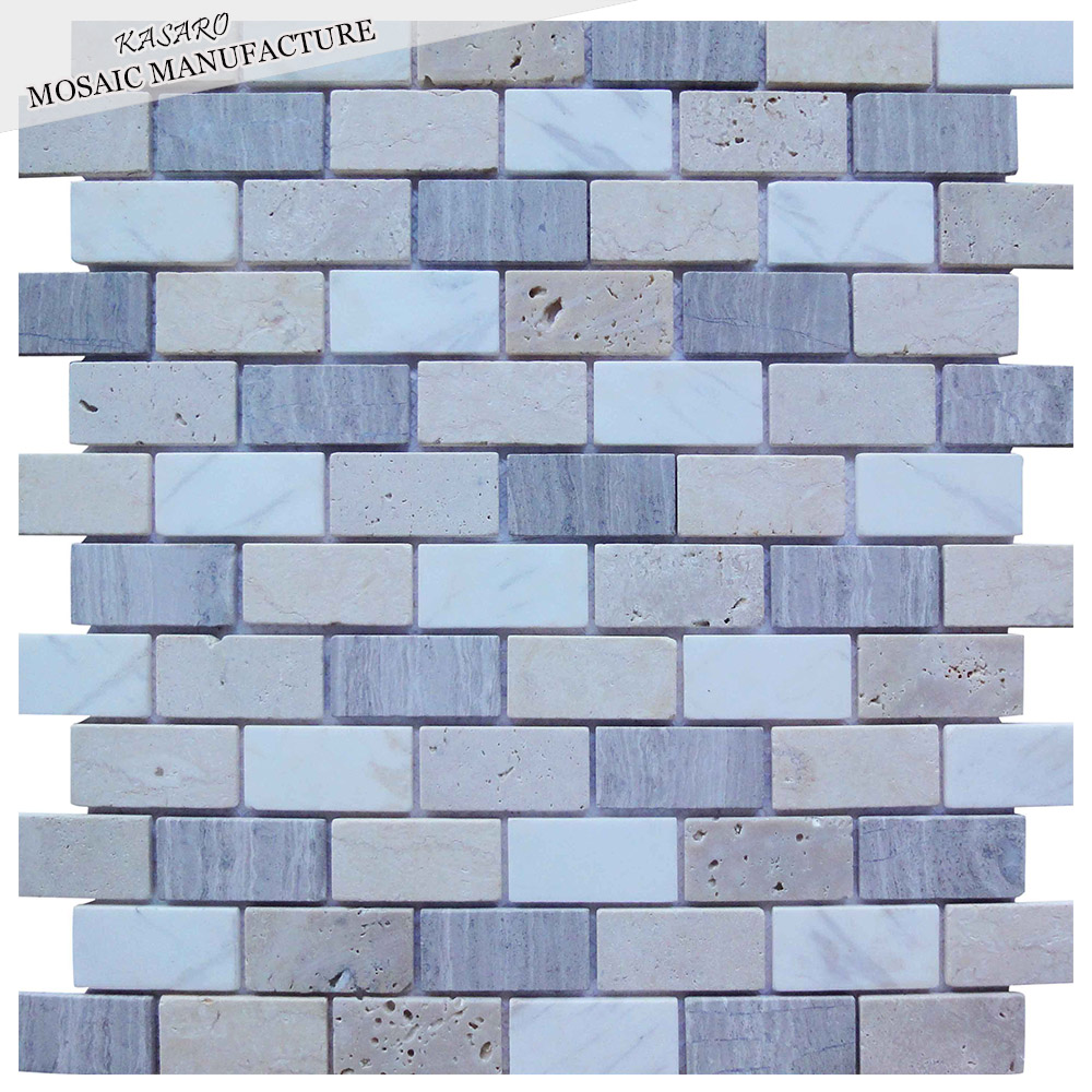 Tumbled Mosaic Tile, Tumbled Mosaic Tile Suppliers and Manufacturers ...