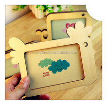 Classic Style Colorful Wooden photo frame