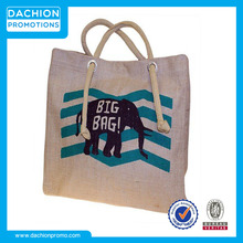 Promotion Large Jute Shopping Bags