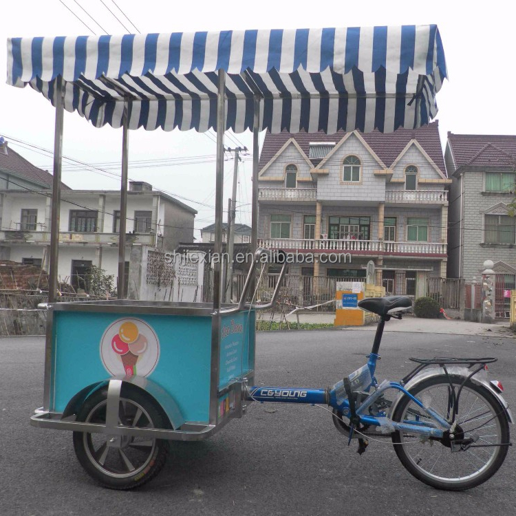JX-FB160 Mobile Food Cart/mobile Coffee Cart/coffee Bike For Sale