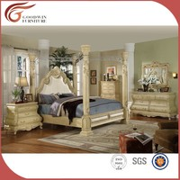 Dongguan factory wooden bedroom furniture WA149