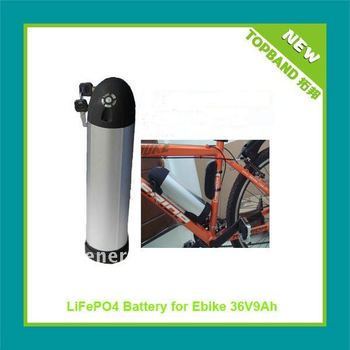 Hot Sale 48 volt Water Bottle Case electric bicycle lifepo4 battery