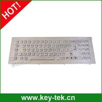 ruggedized with numeric Industrial Metal Keyboard