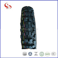 4.10-18 Off road deep pattern motorcycle tube and tubeless tyre