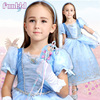2016 Hot sale latest cosplay cinderella princess dress for childrens
