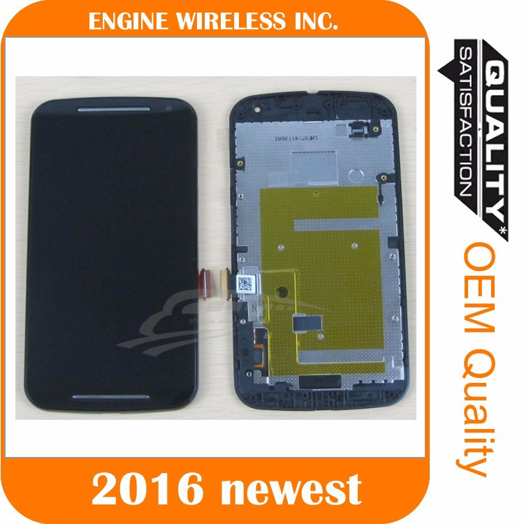 Factory price high quality for moto x 2nd gen lcd