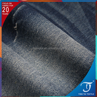 Top quality Low price jeans fabric cotton jersey fabric T/C/SP blended spandex denim fabric