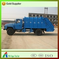 8M3 Sewage Suction Trailer Vacuum Road Sweeper Truck