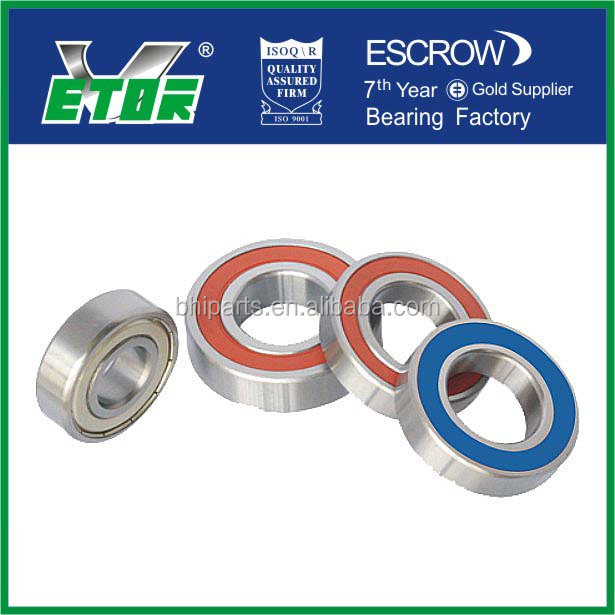 China made deep groove ball bearing 6204 with high quality of VETOR brand
