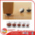 chair nail glides Chair leg protection nail on felt pads with nails