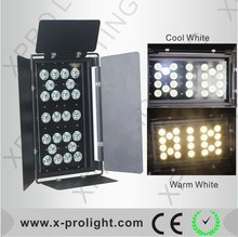 LED Surface light 24X5W White & Amber led par light, TV, Film Studio light 5W high brightness led wash light