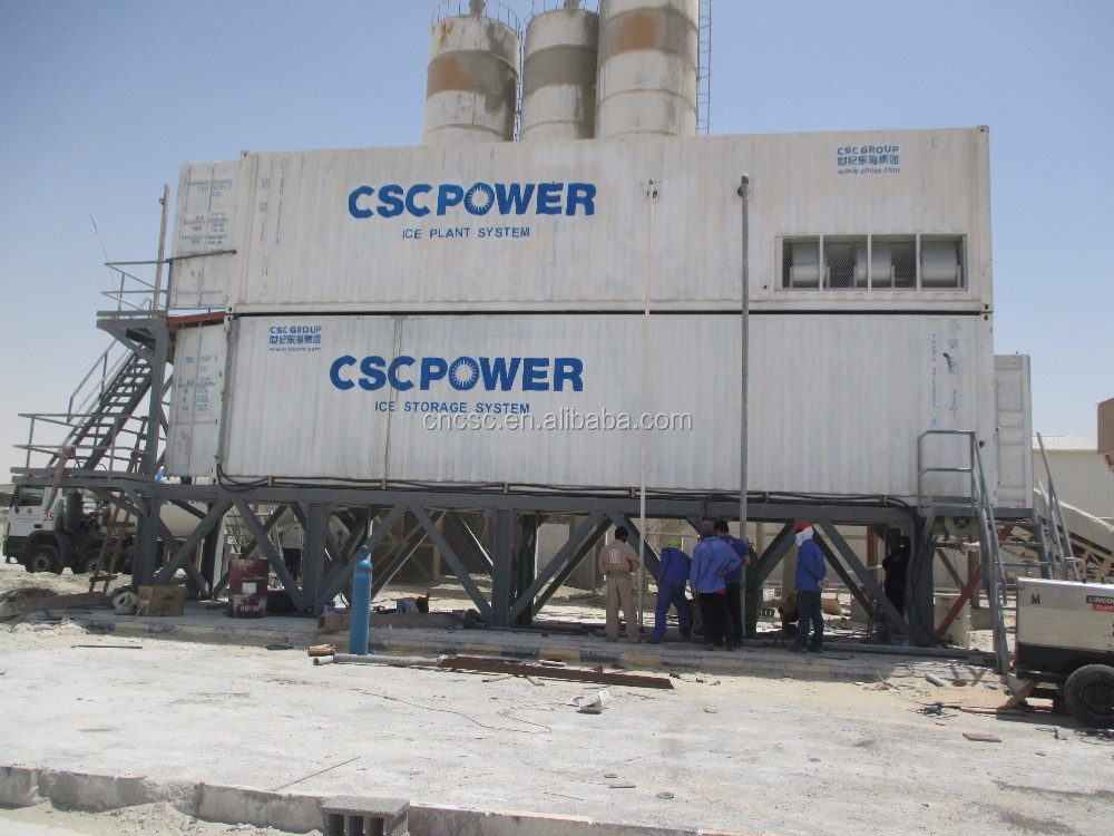 cscpower industrial Large Scale Flake Ice Machine 40T
