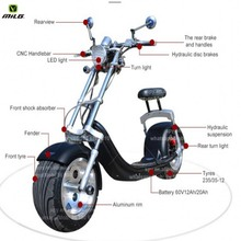 2016 Best selling citycoco New arriver motorbike e city scooter