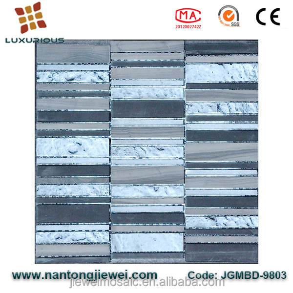 alibaba.com in russian Spanish White And Black Marble Mosaic Tile for Interior or Bathroom/Shower