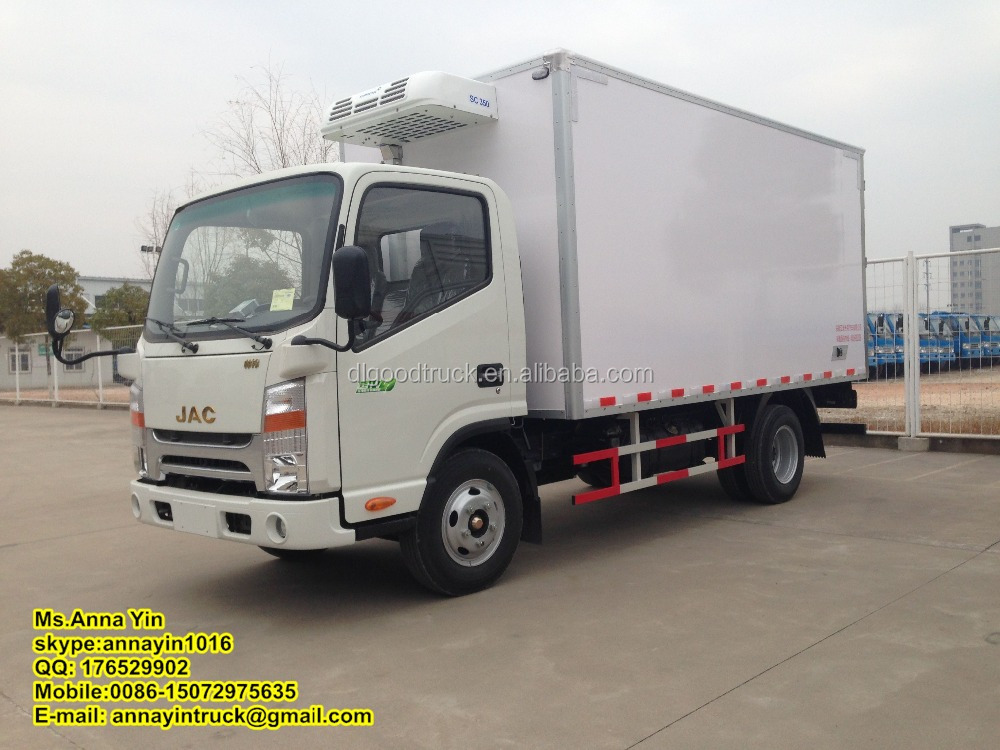 JAC 4*2 refrigerated truck Reefer Van Truck Chiller Truck