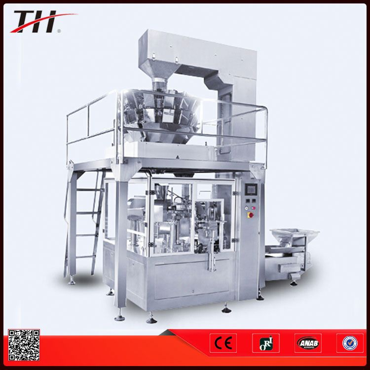 vertical pouch crisps packaging machine