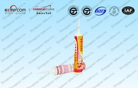 Good sealing adhesive specially for large plate glass