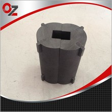 OEM customized processing graphite mould for gold melting furnace