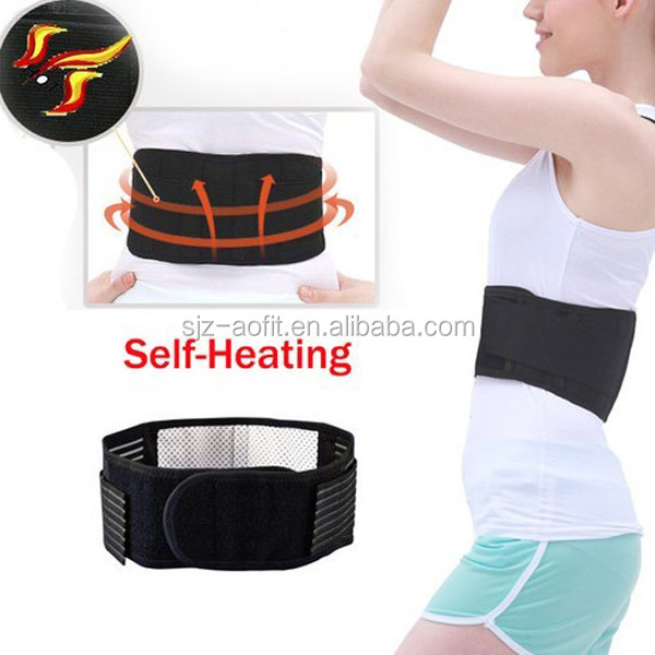 Biotherapy lumbar support brace belt, far infrared heated back braces