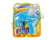 Funny inertial automatic dolphin toy wholesale bubble gun for sale