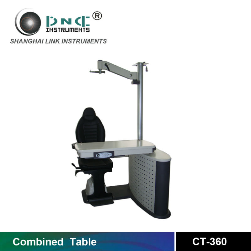 Ophthalmic equipment operating table for ophthalmology