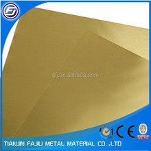 H62 polished brass sheet, price for brass sheet
