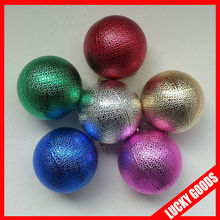 2014 good quality ball state christmas tree ornaments