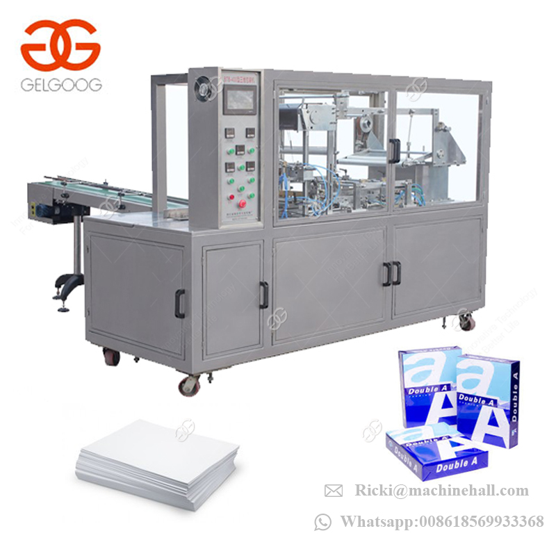 Automatic BOPP Heat Sealing Film 3D Packing Machine Cartoon Box Packing Machine for Sale