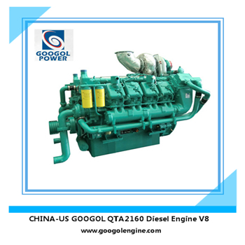 Diesel Save Engine 60Hz 1050kW V8 Engine High Efficiency