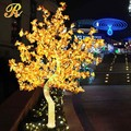 Acrylic led maple tree light for outdoor yard decoration