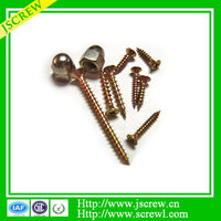 M3 China cross Flat head Chipboard screw, screw and nut