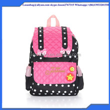 2016 New Fashion Design Girls School Backpack High Quality Lightweight Teenagers Kids Backpack for School
