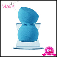 Latex free blue sculptor makeup sponge