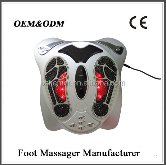 Easy use acupuncture electromagnetic foot massager