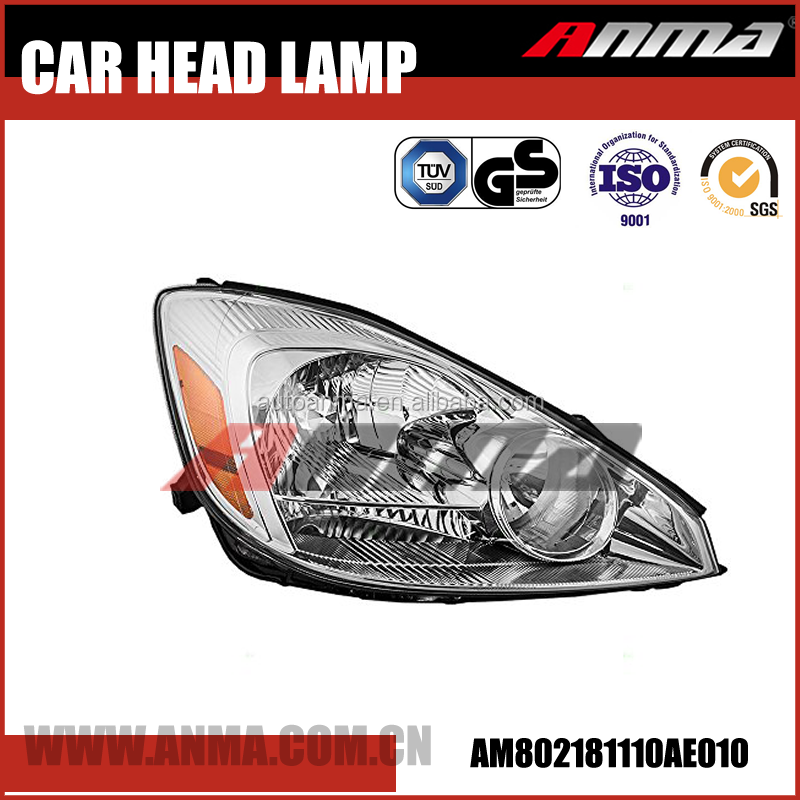 Japan car brand camry headlight for manufacturer price 81110AE010